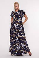 Женское платье большого размера 50 размера