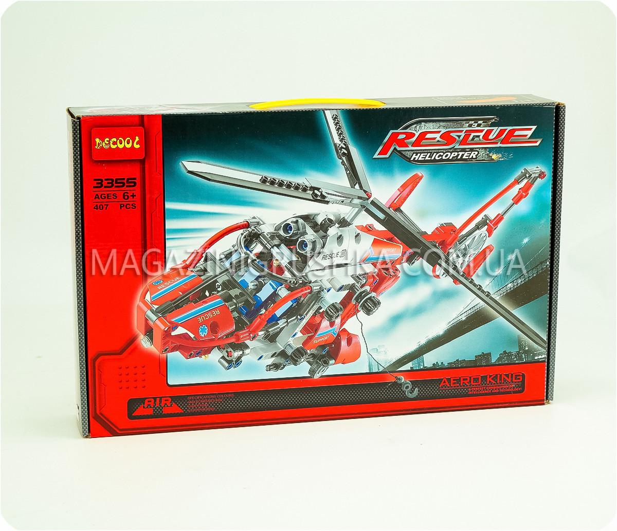 Конструктор «Вертолет: король воздуха» - 407 деталей