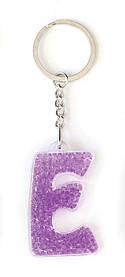 Брелок YES буква Е фиолетовая код: 554259