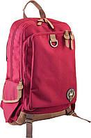 Рюкзак городской YES OX 186 красный 29.5*45.5*15.5 код: 554018