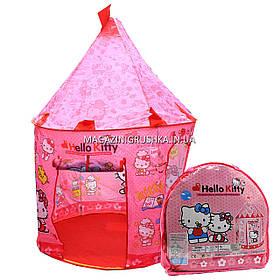 Дитячий ігровий намет будиночок «Замок Кітті» SG70033HK. Дитина зможе комфортно грати в наметі.