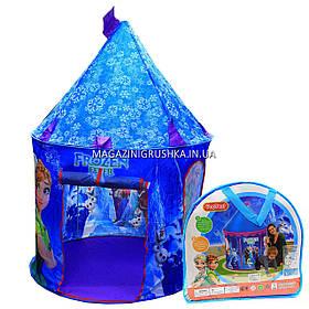 Дитячий ігровий намет будиночок «Замок Холодне серце» SG7033FZ. Дитина зможе комфортно грати в наметі