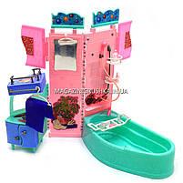 Детская игрушечная мебель Глория Gloria для кукол Барби Ванная 21013. Обустройте кукольный домик, фото 2