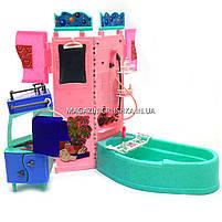 Детская игрушечная мебель Глория Gloria для кукол Барби Ванная 21013. Обустройте кукольный домик, фото 3