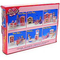 Детская игрушечная мебель Глория Gloria для кукол Барби Гардероб и спальня 24014. Обустройте кукольный домик, фото 7