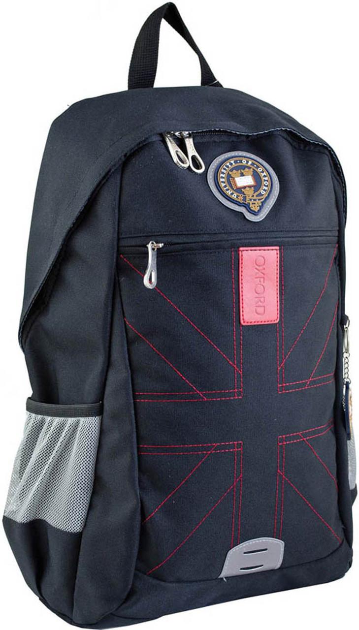 Рюкзак городской YES OX 316 черный 46.5*30.5*15.5 код: 554115