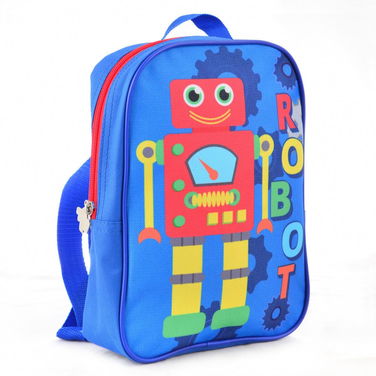 Рюкзак детский дошкольный YES K-18 Robot 24.5*17*6 код: 554750