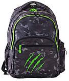 Рюкзак школьный для подростка YES T-55 Claw 43*32*14 код: 554920, фото 5