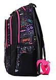 Рюкзак школьный для подростка YES Т-27 OMG 46*37*20 код: 554934, фото 3