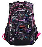 Рюкзак школьный для подростка YES Т-27 OMG 46*37*20 код: 554934, фото 5