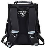 Рюкзак школьный ортопедический каркасный Smart PG-11 Race car 34*26*14 код: 554513, фото 4