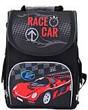 Рюкзак школьный ортопедический каркасный Smart PG-11 Race car 34*26*14 код: 554513, фото 5