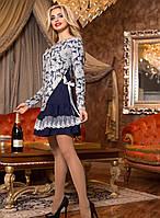 Нарядное платье с пышной юбкой 48 размера
