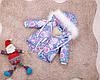 Детская парка Единороги зима для девочек