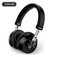 Беспроводные Bluetooth наушники гарнитура YESPLUS YS-502 black черные