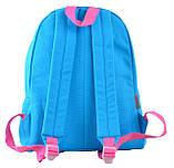 Рюкзак городской YES  ST-30 Medium blue, 35*28*16 код: 555064, фото 4