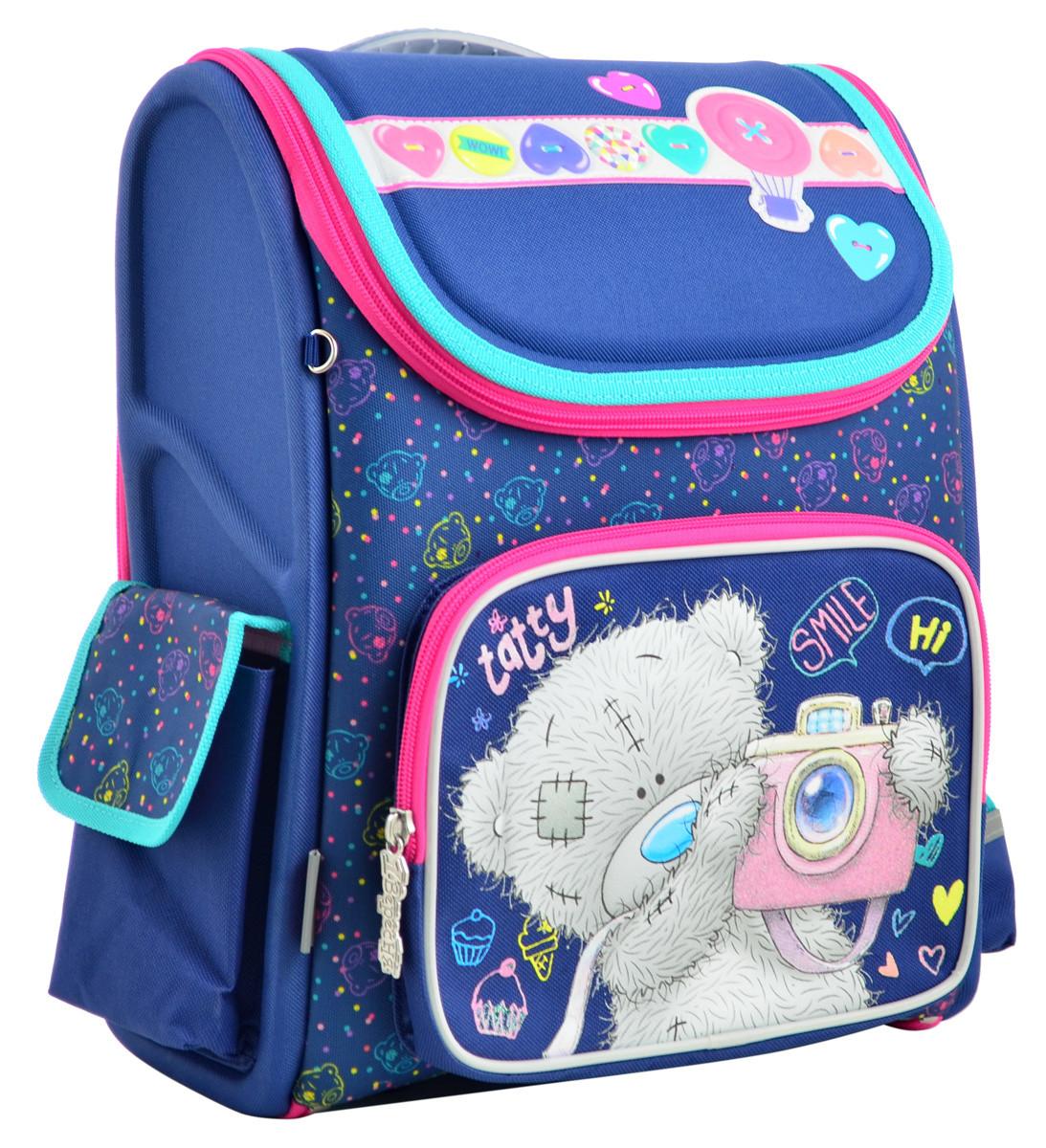 Рюкзак школьный ортопедический каркасный YES H-17 MTY 34.5*28*13.5 код: 555096