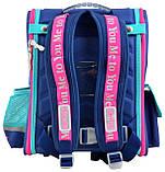 Рюкзак школьный ортопедический каркасный YES H-17 MTY 34.5*28*13.5 код: 555096, фото 4