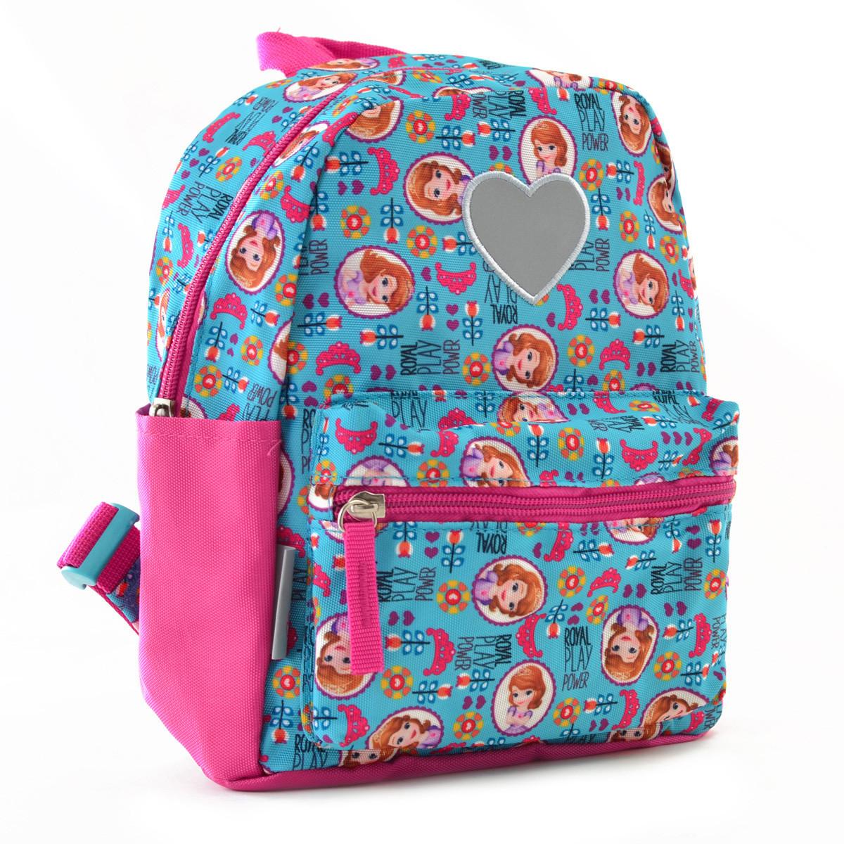 Рюкзак детский дошкольный YES K-19 Sofia 24.5*20*11 код: 555302