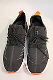 Мужские летние, темно-серые кроссовки SAYOTA. Чоловічі літні, темно-сірі кросівки, фото 5