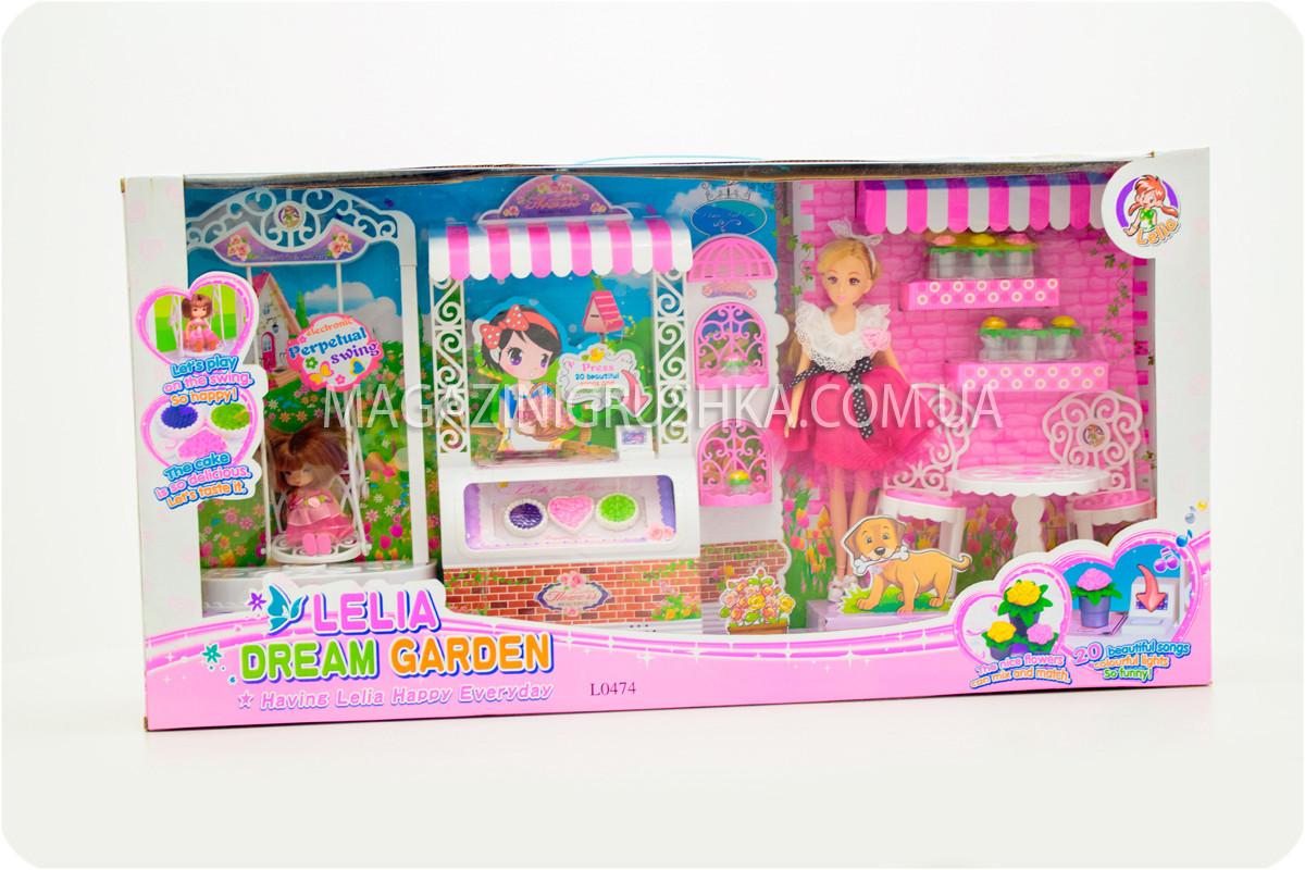 Детская игрушечная мебель для кукол Барби Сад мечты. Обустройте кукольный домик