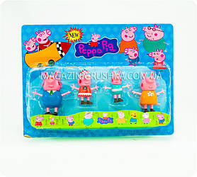 Набор фигурок «Свинка Пеппа» (4 шт., подсветка, в коробке)