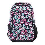 Рюкзак школьный для подростка YES  Т-26 Lavely pandas, 45*30*14 код: 554776, фото 4