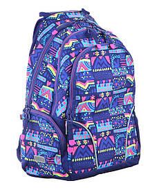 Рюкзак школьный для подростка YES T-26 Motley 45*30*17 код: 554778