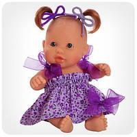 Кукла серии «Пупсы-малыши» - Кукла-пупс девочка в фиолетовом платье