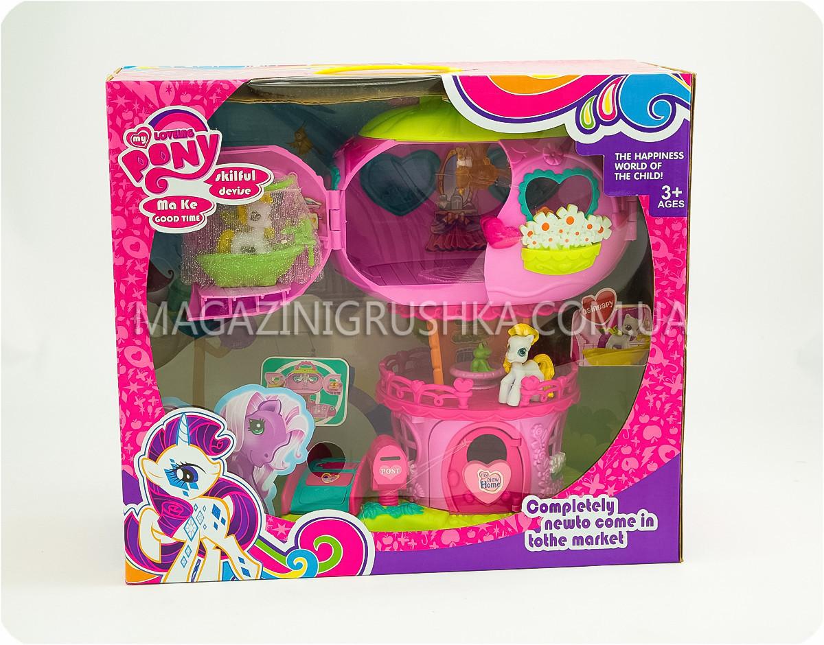 Домик «My Little Pony» с 2-мя пони в комплекте: продажа ...