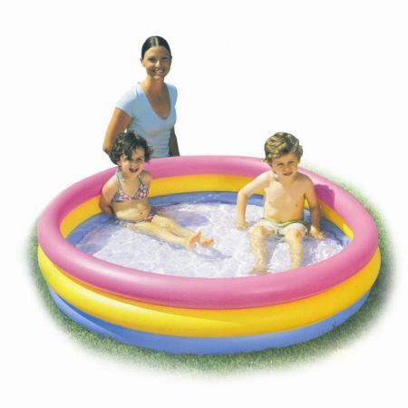 Надувной бассейн Bestway Радуга