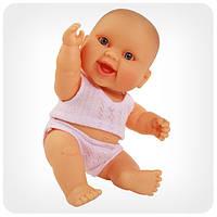 Кукла серии «Пупсы-малыши» - Младенец девочка европейка в трусах и майке