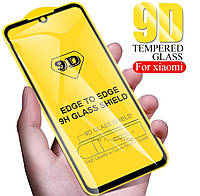 Захисне скло 9D Full Glass Cover для телефону Samsung Galaxy A50 SM-A505F захисне скло на весь екран А50
