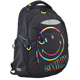 Рюкзак школьный для подростка YES T-23 Smiley 45*31*14.5 код: 554792