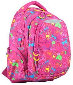Рюкзак школьный для подростка YES Т-22 Neon 45*31*15 код: 554794