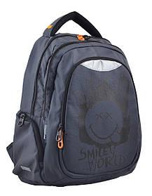 Рюкзак школьный для подростка YES Т-22 Smile 45*31*15 код: 554802