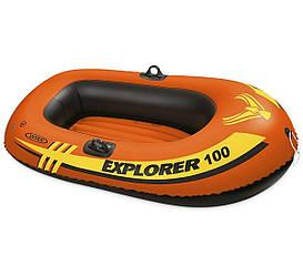 Одноместная надувная лодка Intex, Explorer 100 147х84х36 cм