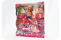 Кукольный набор «Штеффи с малышом на велосипеде» 5739050, фото 1