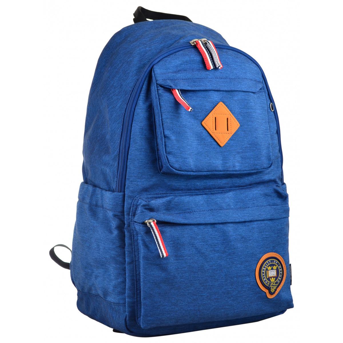 Рюкзак городской YES OX 387 47*30*17 синий код: 555652