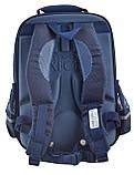 Рюкзак школьный YES OX 379 40*29.5*12 синий код: 555703, фото 4