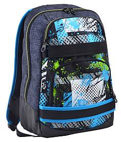 Рюкзак школьный для подростка YES Т-47 Energy 44*30*13.5 код: 554874
