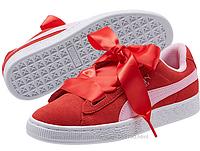 Замшевые кеды  сникерсы кроссовки Пума PUMA Junior Suede heart radicals  Оригинал  США  Размер 24 см, 25 см