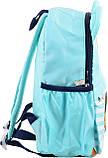 Рюкзак детский дошкольный YES j100 32*24*14.5 голубой код: 555716, фото 2