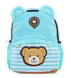 Рюкзак детский дошкольный YES j100 32*24*14.5 голубой код: 555716, фото 5