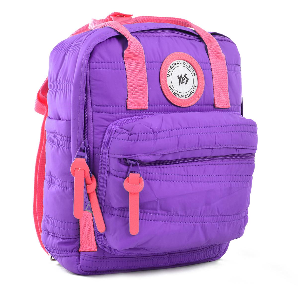 Рюкзак городской прогулочный YES ST-27 Mountain lavender 29*23*10 код: 555772