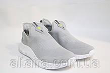 Стильні чоловічі світло-сірі кросівки літні BAAS. Чоловічі стильні світло-сірі кросівки, літні.