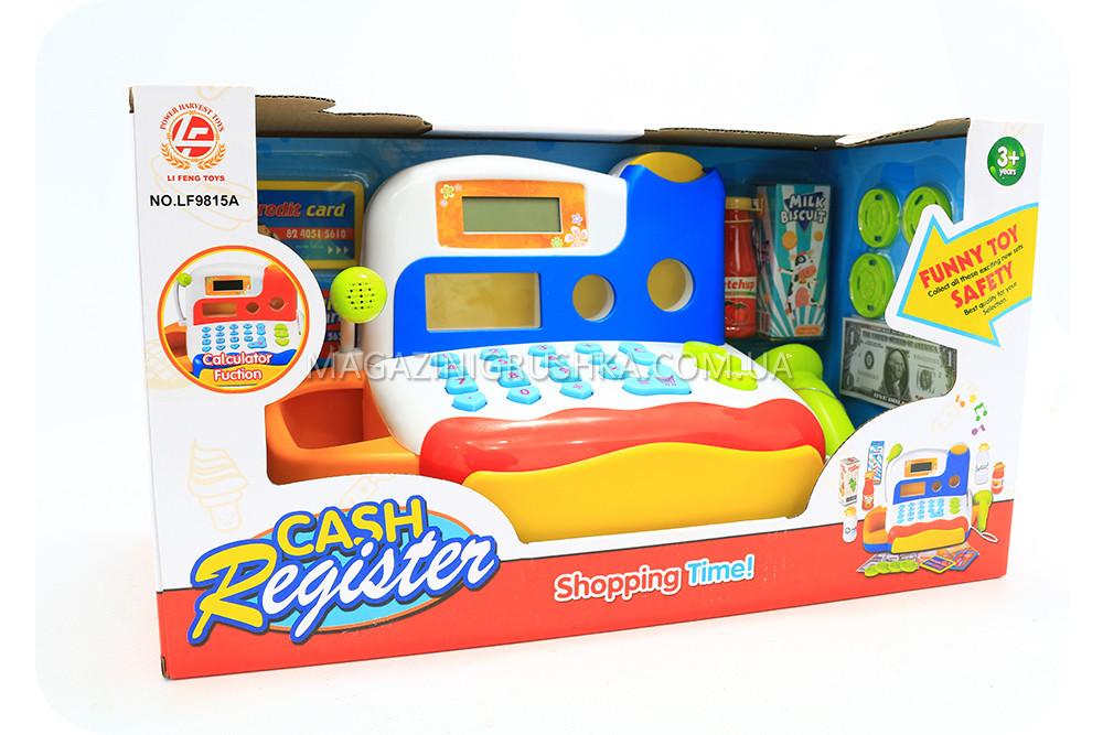 Детский кассовый аппарат (свет, звук) LF9815A