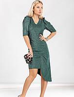 Вечернее платье из трикотажа люрекса 44 размера