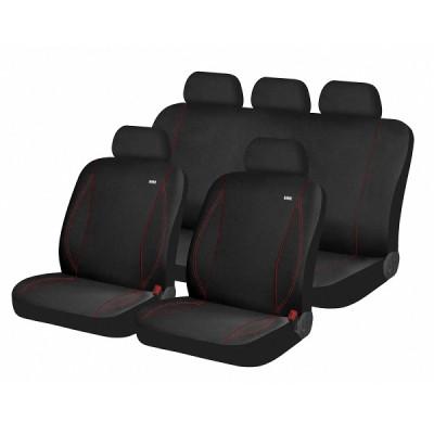 Чехлы для автомобильных сидений Hadar Rosen PARTNER Черный/Красный 10918