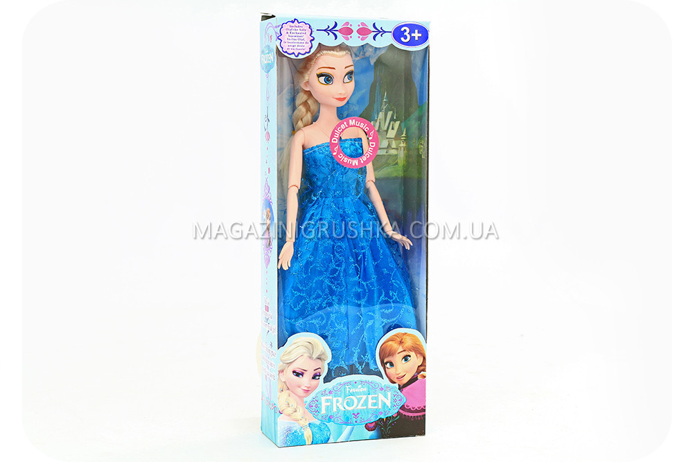 Кукла «Холодное сердце» (Frozen) - Эльза и Анна (шарнир., муз.)